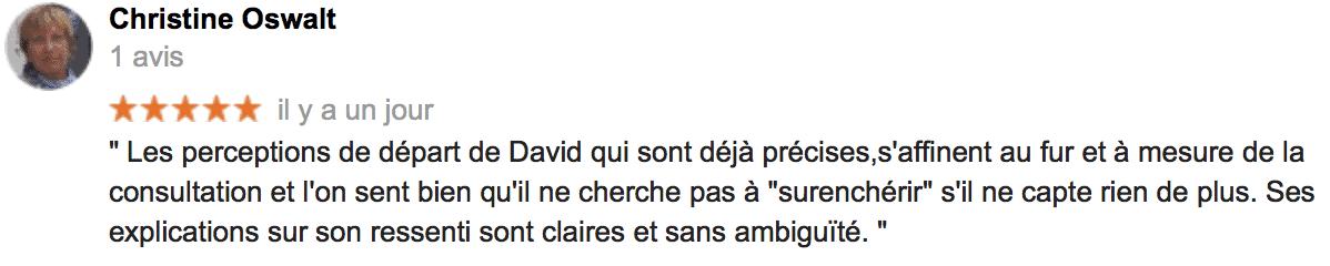 Avis Christine O - David Mocq