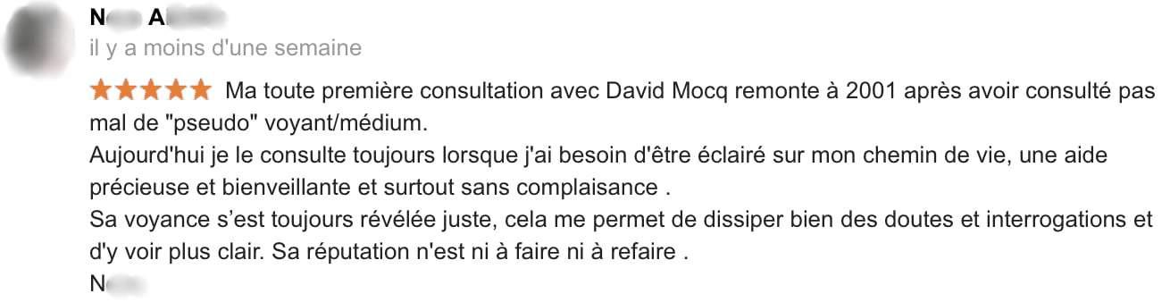 David Mocq Avis Nora