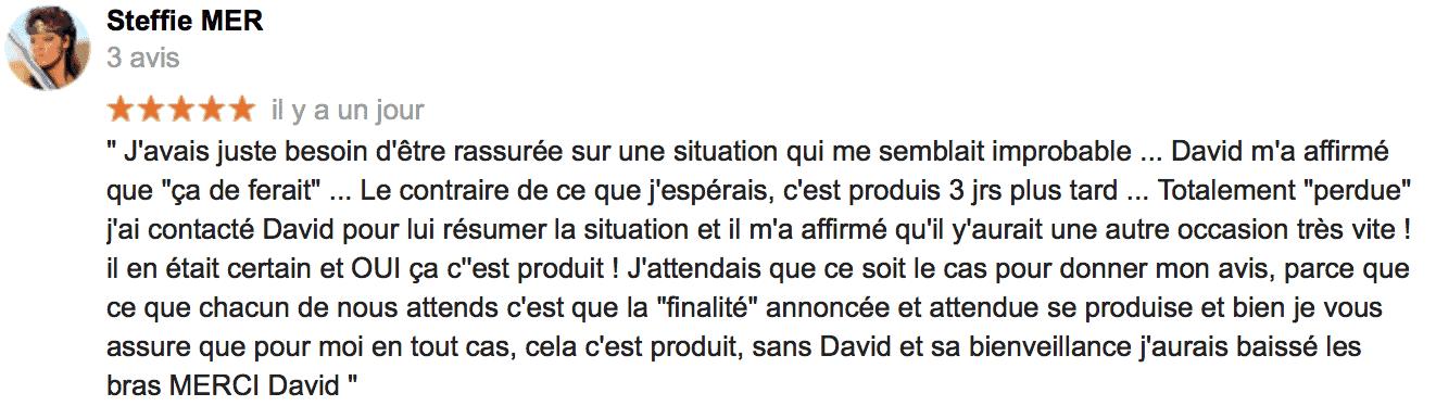 Avis Steffie M - David Mocq