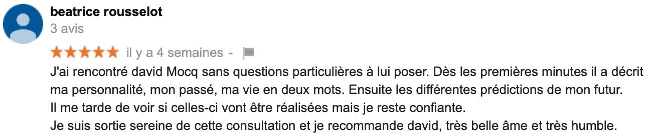 David Mocq, avis Béatrice R.