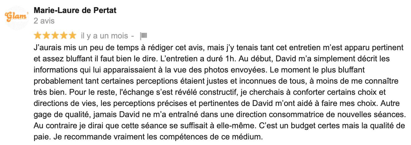 David Mocq, avis Marie-Laure De P